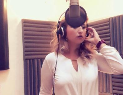 in the studio - mari a